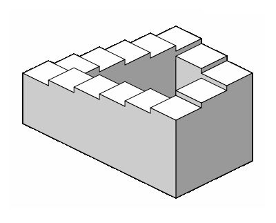 Quelques exemples d illusions d optique stairs.jpg
